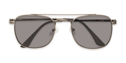 Folded of Elm #8318 in Glossy Gunmetal Frame with Smoke Lenses