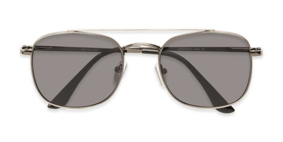 Folded of Elm #8318 in Matte Grey Frame with Smoke Lenses