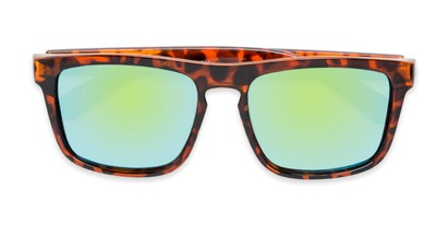 Folded of Ethan #60972 in Tortoise Frame with Yellow/Blue Mirrored Lenses