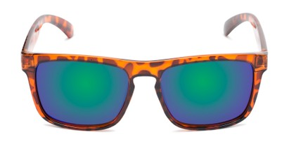 Front of Ethan #60972 in Tortoise Frame with Blue/Green Mirrored Lenses