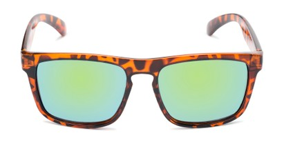 Front of Ethan #60972 in Tortoise Frame with Yellow/Blue Mirrored Lenses