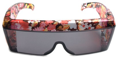 Image #1 of Women's and Men's SW Floral Shield Style #8938