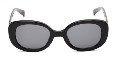 Front of Fanning #16260 in Black Frame with Grey Lenses