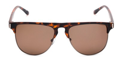 Front of Floyd #2032 in Tortoise/Grey Frame with Amber Lenses