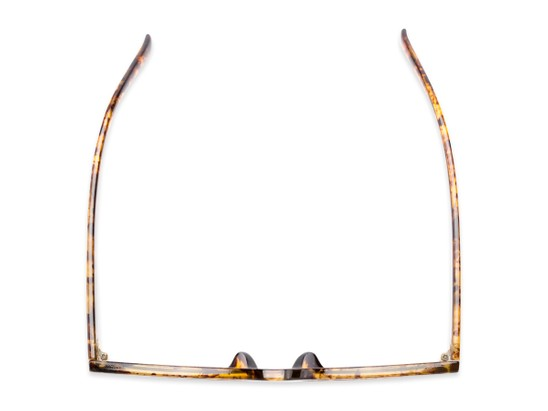 Overhead of Foley #2884 in Tortoise Frame with Amber Lenses