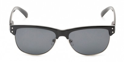 Front of Folsom #8395 in Black Frame with Grey Lenses