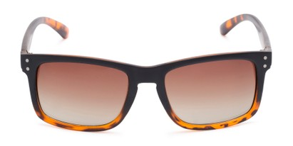 Front of Garcia #2034 in Tortoise/Black Frame with Amber Lenses