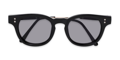 Folded of Geary #540991 in Black Frame with Grey Lenses