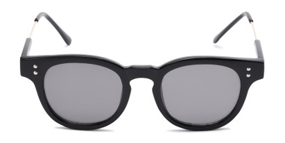 Front of Geary #540991 in Black Frame with Grey Lenses