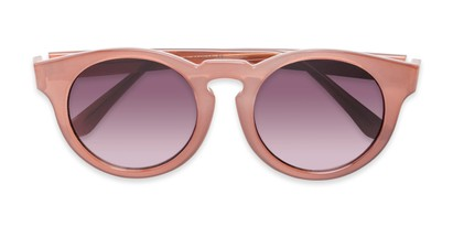 Folded of Dawes #32073 in Rose/Pink Frame with Smoke Lenses