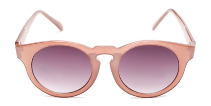 Front of Dawes #32073 in Rose/Pink Frame with Smoke Lenses