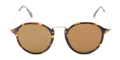 Front of Grafton #5428 in Tortoise/Gold Frame with Amber Lenses