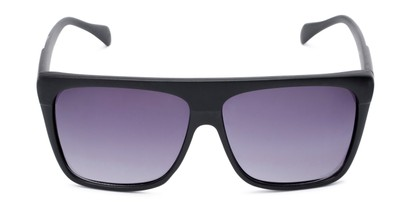 Front of Grover #8292 in Black Frame with Grey Lenses