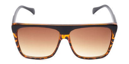 Front of Grover #8292 in Black/Tortoise Frame with Amber Lenses