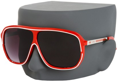 Image #3 of Women's and Men's SW Oversized Retro Aviator Style #9916