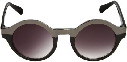 Round Two Tone Sunglasses