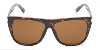 Front of Hank #7442 in Tortoise Frame with Amber Lenses