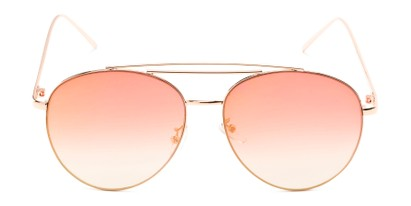 Front of Harbor #3136 in Gold Frame with Pink Mirrored Gradient Lenses