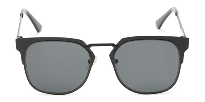 Front of Hayes #4299 in Black Frame with Grey Lenses