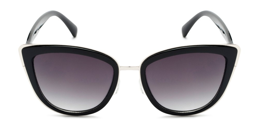 f1b1acb3a Mixed Plastic-Metal Cat Eye Sunglasses
