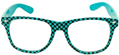 Image #1 of Women's and Men's SW Clear Checkered Retro Style #548