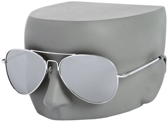 Image #3 of Women's and Men's SW Mirrored Aviator Style #3311