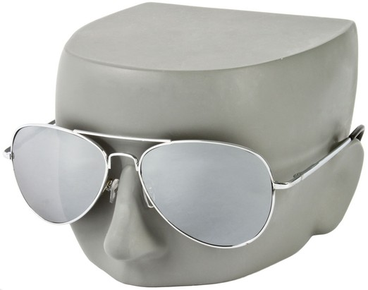 Image #2 of Women's and Men's SW Mirrored Aviator Style #786