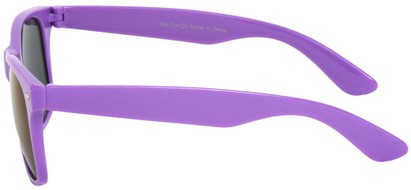 Neon Mirrored Wayfarer Style Sunglasses
