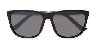Folded of Jameson #54100 in Matte Black Frame with Grey Lenses