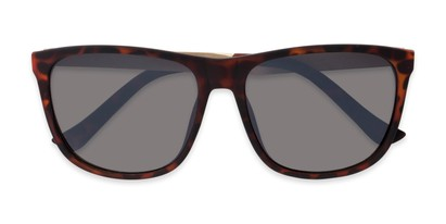 Folded of Jameson #54100 in Matte Tortoise Frame with Grey Lenses