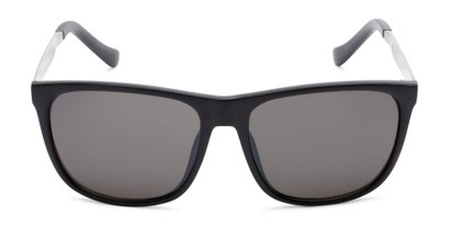 Front of Jameson #54100 in Matte Black Frame with Grey Lenses