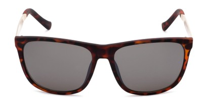 Front of Jameson #54100 in Matte Tortoise Frame with Grey Lenses