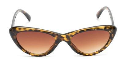 Front of Jewels #7434 in Glossy Tortoise Frame with Amber Lenses