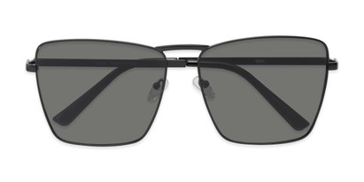 Folded of Joel #4804 in Black Frame with Grey Lenses