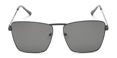 Front of Joel #4804 in Black Frame with Grey Lenses