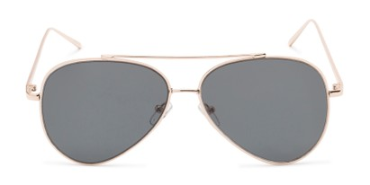 Front of Jolt #3963 in Gold Frame with Grey Lenses