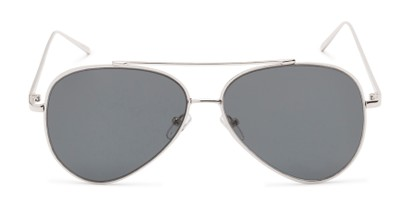 Front of Jolt #3963 in Silver Frame with Grey Lenses