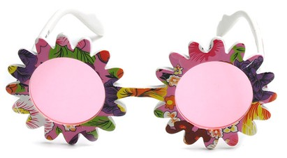 Image #2 of Women's and Men's SW Funky Kid's Sunglasses #201