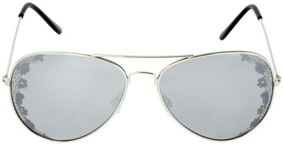 Floral Aviator Sunglasses