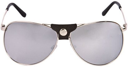 Image #1 of Women's and Men's SW Retro Mirrored Aviator Style #2006
