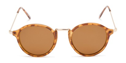 Front of Legend #16171 in Glossy Tortoise Frame with Amber Lenses