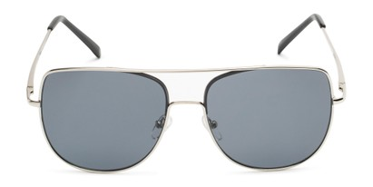 Front of Liv #3137 in Silver Frame with Grey Lenses