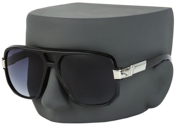 Oversized Plastic Aviator Sunglasses
