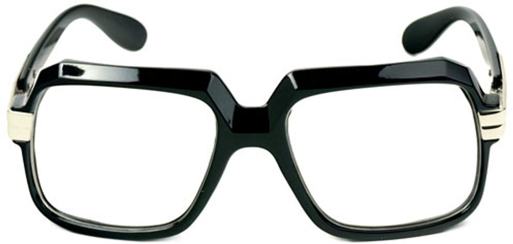 Oversized Clear Frame Nerd Sunglasses