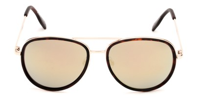 mirrored aviator shades