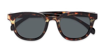 Folded of Mac in Tortoise Frame with Grey Lenses