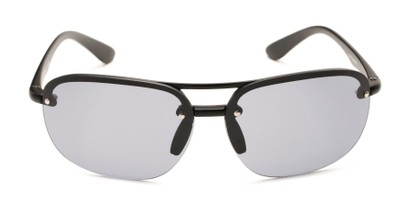 Front of Madagascar #51571 in Matte Black Frame with Smoke Lenses