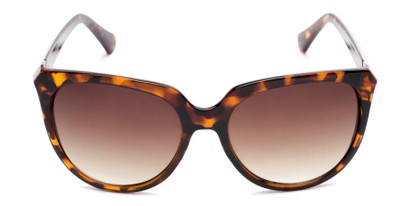 Front of Marion #32095 in Tortoise Frame with Amber Lenses