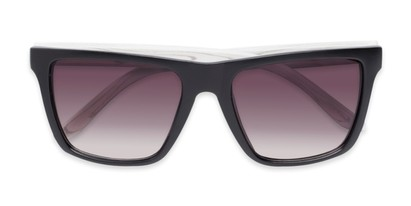 Folded of Miller #54099 in Black Frame with Smoke Lenses