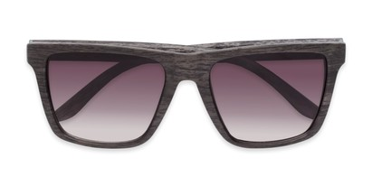 Folded of Miller #54099 in Grey Frame with Smoke Lenses